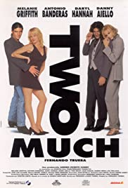 Two Much (1996) Poster - Movie Forum, Cast, Reviews