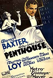 Penthouse (1933) Poster - Movie Forum, Cast, Reviews
