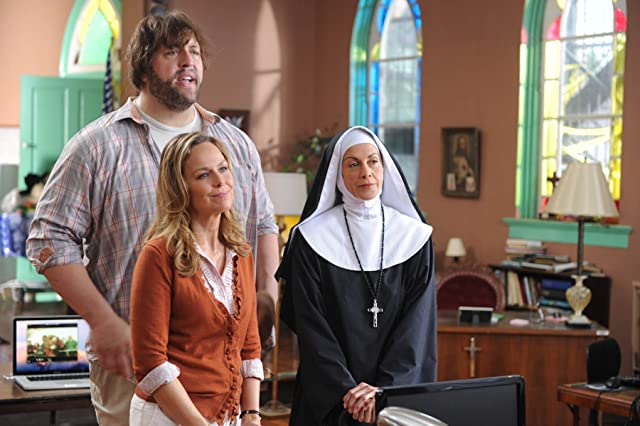 Melora Hardin, Wendie Malick, and Paul Wight in Knucklehead (2010)