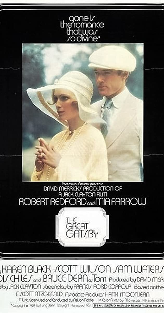 The Great Gatsby 1974 The Great Gatsby (1974...