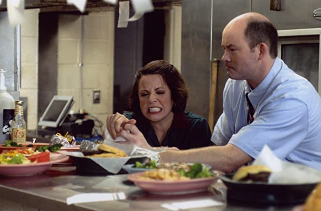 Alanna Ubach and David Koechner in Waiting... (2005)