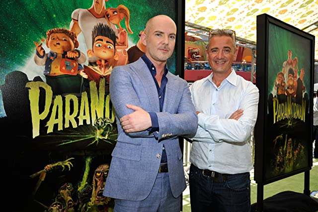 Sam Fell and Chris Butler at ParaNorman (2012)
