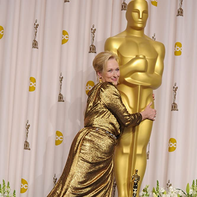 Meryl Streep at an event for The 84th Annual Academy Awards (2012)