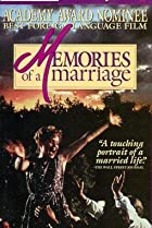 Image of Memories of a Marriage