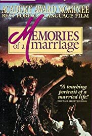 Memories of a Marriage (1989) Poster - Movie Forum, Cast, Reviews