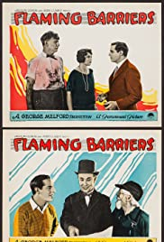Flaming Barriers Poster