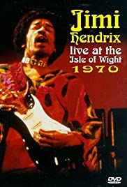 Jimi Hendrix at the Isle of Wight Poster