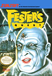 Uncle Fester's Quest: The Addams Family Poster