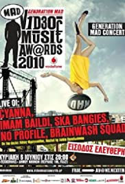 MAD V1deo Music Aw@rds 2010 Poster