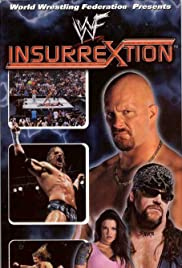 WWF Insurrextion (2001) Poster - TV Show Forum, Cast, Reviews