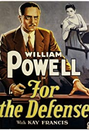 For the Defense (1930) Poster - Movie Forum, Cast, Reviews