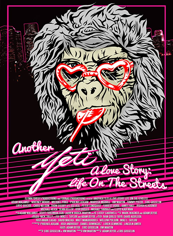Another Yeti a Love Story Life on the Streets 2017 720p WEB-DL 400MB