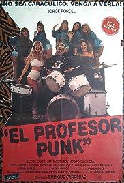 El profesor Punk Poster