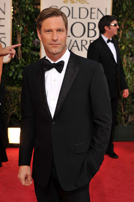Aaron Eckhart at The 66th Annual Golden Globe Awards (2009)