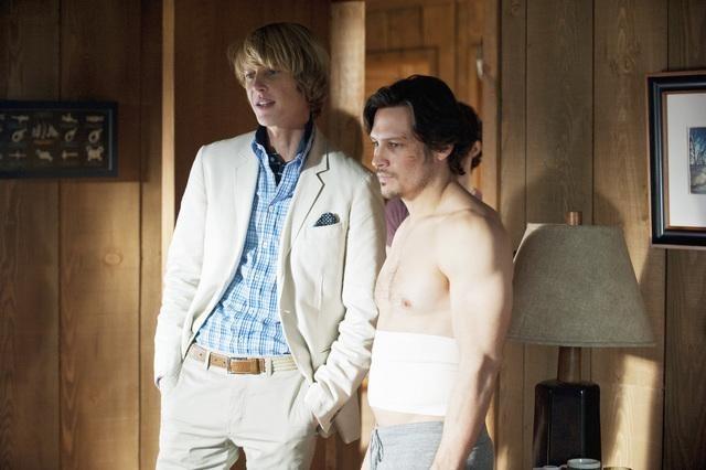 Gabriel Mann and Nick Wechsler in Revenge (2011)