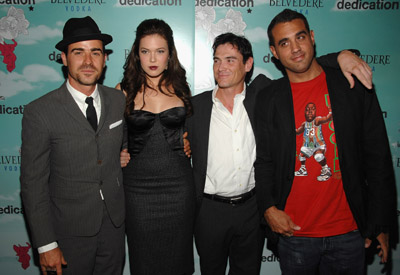 Billy Crudup, Bobby Cannavale, Mandy Moore, and Justin Theroux at Dedication (2007)