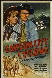 Carson City Cyclone Poster