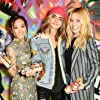 Margot Robbie, Cara Delevingne, and Karen Fukuhara at an event for Suicide Squad (2016)