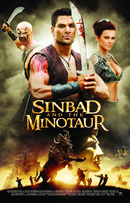 Sinbad and the Minotaur (2011) Dual Audio Movie