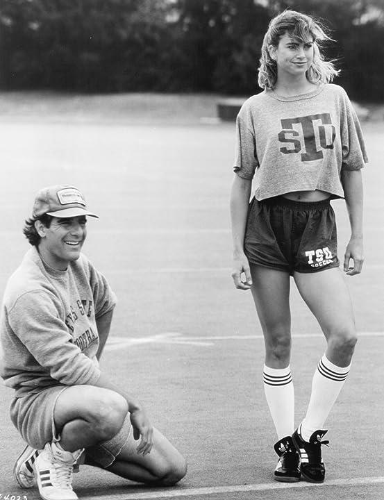 Scott Bakula and Kathy Ireland in Necessary Roughness (1991)