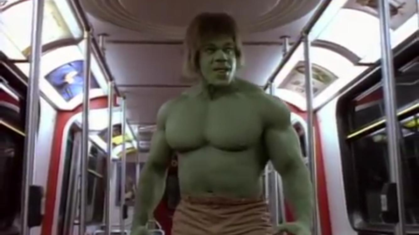 Image result for trial of the incredible hulk