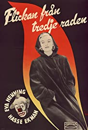 Flickan från tredje raden Poster