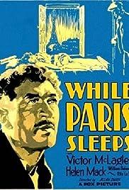 While Paris Sleeps Poster