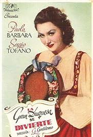La granduchessa si diverte Poster