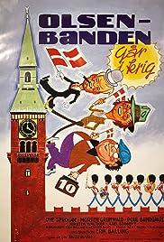 Olsen-banden går i krig Poster