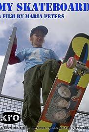 Mijn skateboard Poster