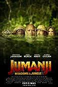 Jack Black, Kevin Hart, Dwayne Johnson, and Karen Gillan in Jumanji: Willkommen im Dschungel (2017)
