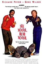 See No Evil, Hear No Evil (1989) Poster - Movie Forum, Cast, Reviews