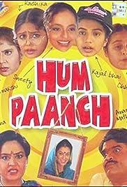 Hum Paanch Poster - TV Show Forum, Cast, Reviews