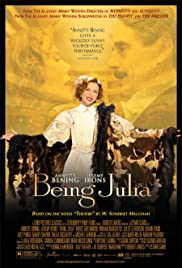 Being Julia(2004) Poster - Movie Forum, Cast, Reviews