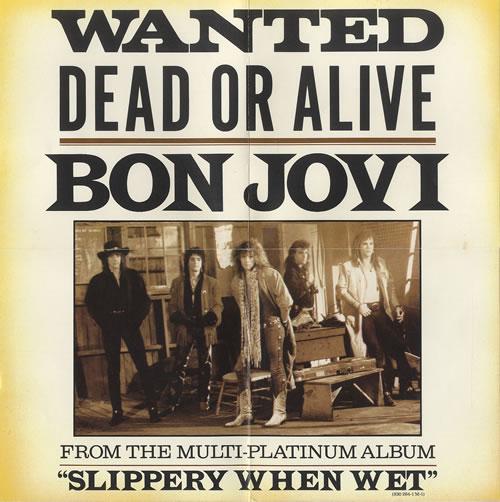 Image result for Bon Jovi - Wanted Dead Or Alive