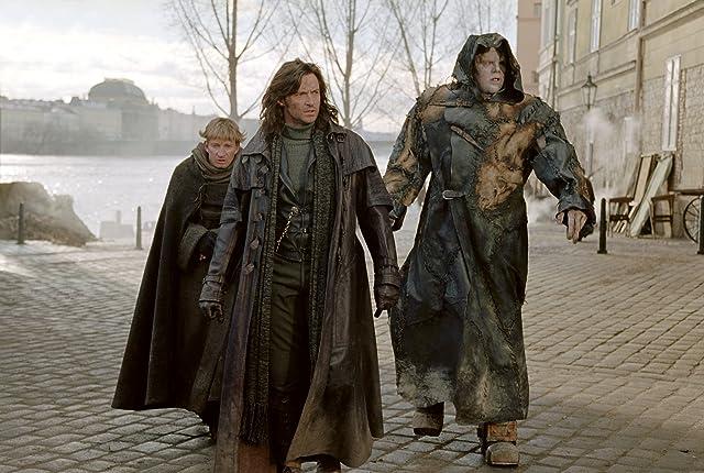 Shuler Hensley, Hugh Jackman, and David Wenham in Van Helsing (2004)