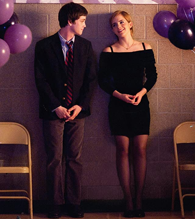 Logan Lerman and Emma Watson in The Perks of Being a Wallflower (2012)