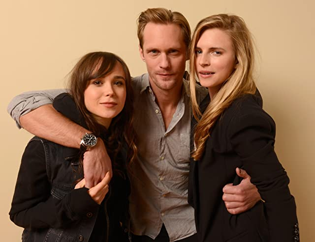Alexander Skarsgård, Ellen Page, and Brit Marling at an event for The East (2013)