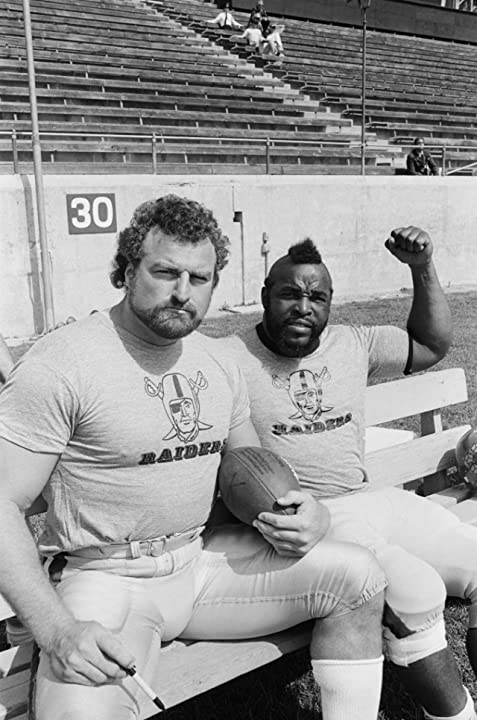Mr. T and John Matuszak in The A-Team (1983)
