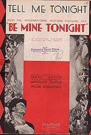 Be Mine Tonight Poster