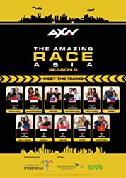 The Amazing Race Asia poster