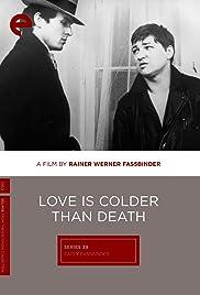 Liebe ist kälter als der Tod Poster