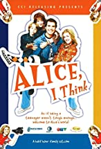 Primary image for Alice, I Think