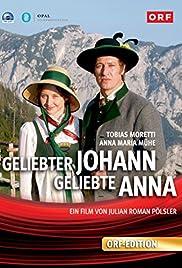 Geliebter Johann geliebte Anna Poster