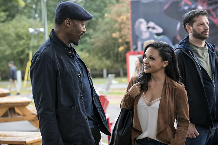 "Jesse L. Martin and Danielle Nicolet as Joe West and Cecile Horton in ""Shade"" (Photo Credit: IMDb)"