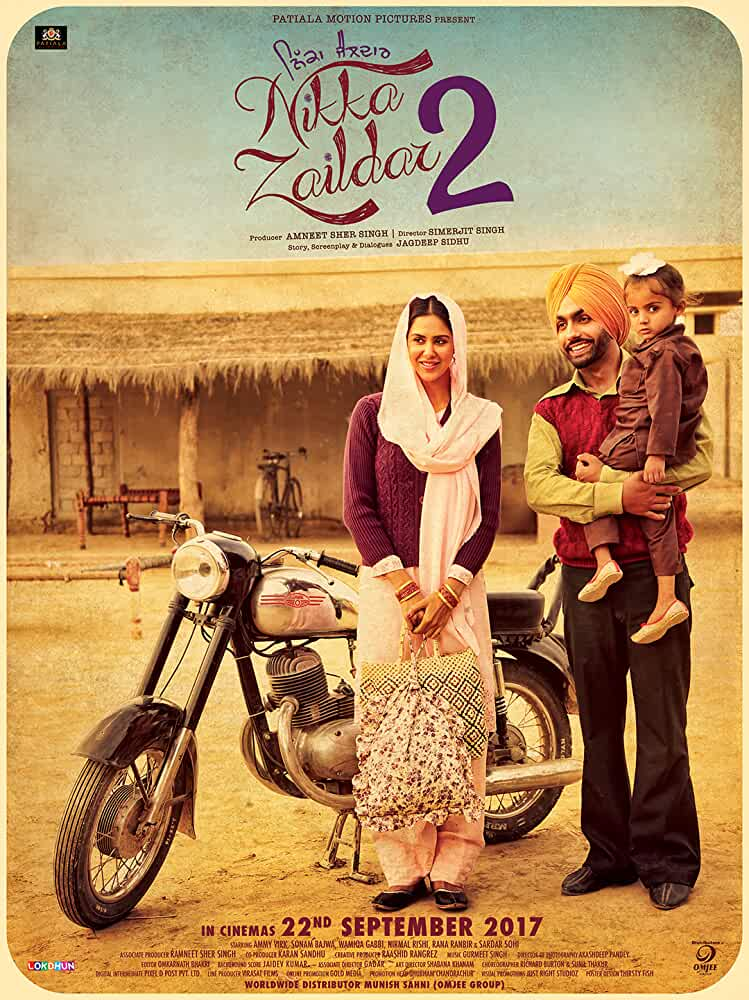 Nikka Zaildar 2 (2017) Full Punjabi Movie 720p HDRip Download 1GB