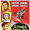 Charlton Heston, Jan Sterling, and Rhonda Fleming in Pony Express (1953)