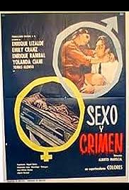 Sexo y crimen Poster