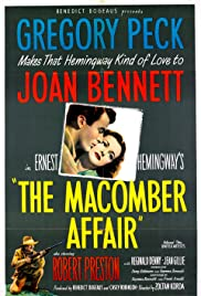 The Macomber Affair (1947) Poster - Movie Forum, Cast, Reviews