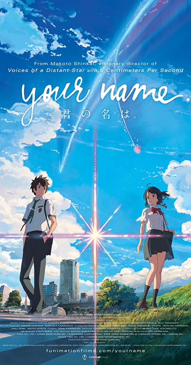 Your Name 2017 BRRip